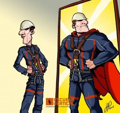 Los problemas de Ego, en trabajos verticales, pueden transformarse en grandes problemas de seguridad.
